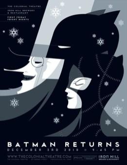 batman retro affiche