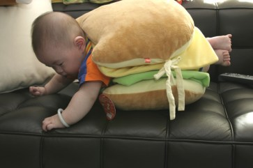 hamburger bebe