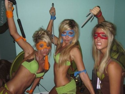 tortues ninja filles
