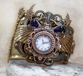 Horloge Montre Steampunk Steampunk_Watch___Egyptian_3_by_Aranwen