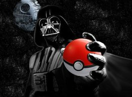 dark vador pokeball