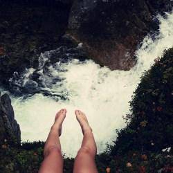 jambes chutes