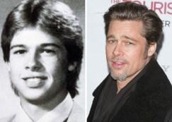 photos de stars jeune ecole Brad Pitt