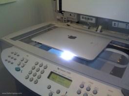 scan ipad