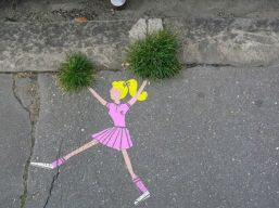 pom pom girl rue touffe