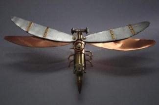 mechanisoptera-fumo-libellule steampunk balle