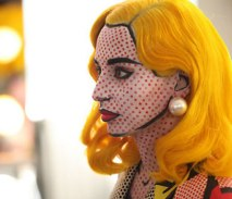 comic-pop art maquillage
