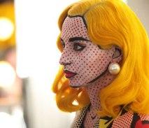 comic-pop art maquillage