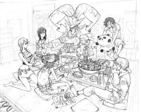 One_Piece_Fanart_par arnistotle