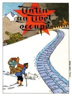 TINTIN-AU-TIBET-OCCUPE-COSEY