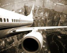 avion decollage