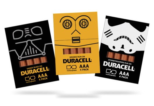 duracell star wars par Spencer Bigum