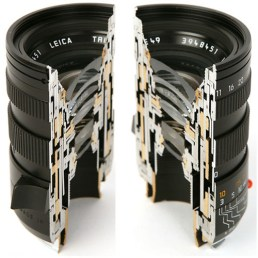 objectif leica coupe