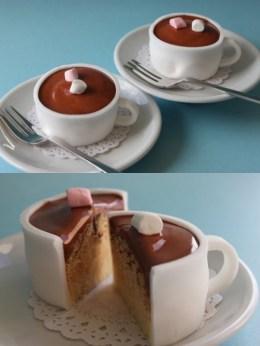 gateau tasse chocolat