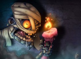 My_Candle_by_Zatransis zombie