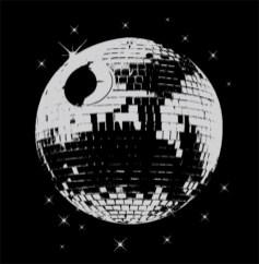boule disco star wars etoile noire