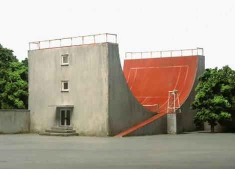 skatepark tennis court