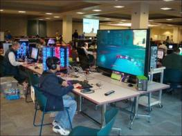gamer grand ecran lcd