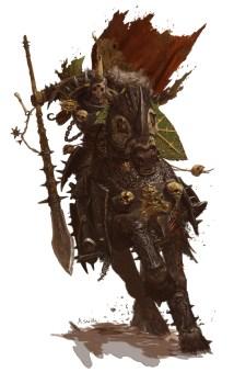 adrian-smith nurgle knight- forgeworld GW