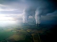 Power Station chimneys, England