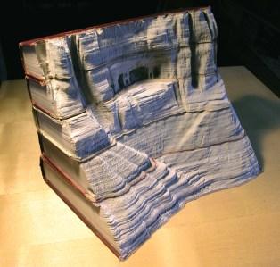 2 livre sculpture Guy Laramee