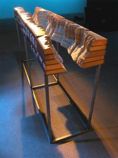 7 livre sculpture Guy Laramee