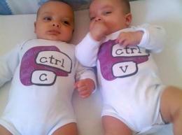 jumeaux copier coller
