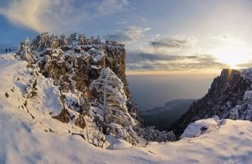 neige beau paysage