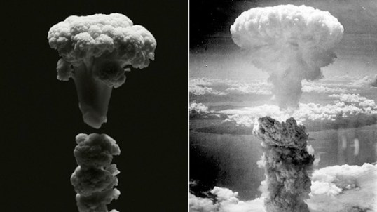 explosion nucleaire chou