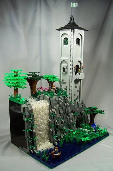 11 chateau lego castle