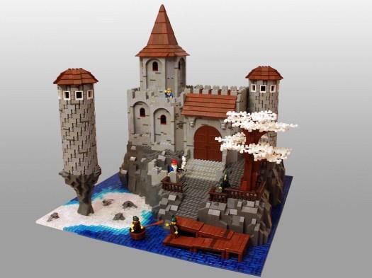 15 chateau lego castle