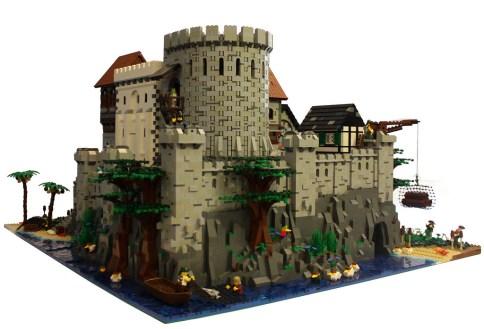 28 chateau lego castle