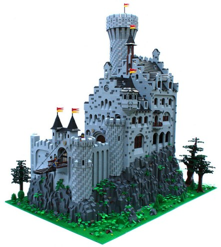 chateau lego