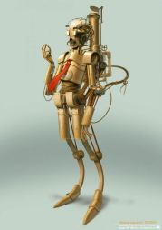steampunk star wars c3po