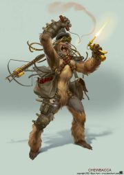 steampunk star wars chewbacca