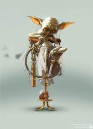 steampunk star wars yoda
