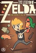zelda link couverture design
