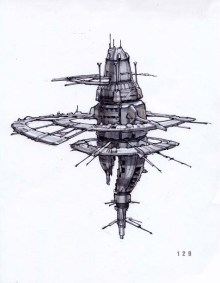 10-vaisseaux design concept dessin