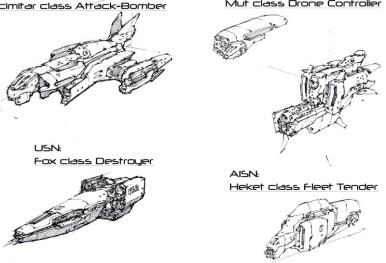 113-vaisseaux design concept dessin
