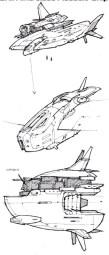 116-vaisseaux design concept dessin
