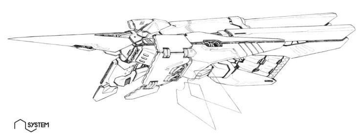 121-vaisseaux design concept dessin