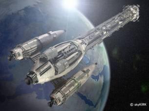 14-vaisseaux design concept dessin