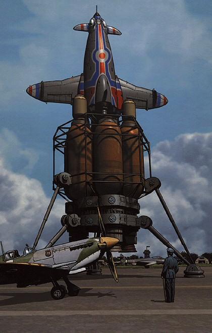 143-vaisseaux design concept dessin