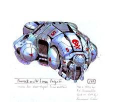 149-vaisseaux design concept dessin