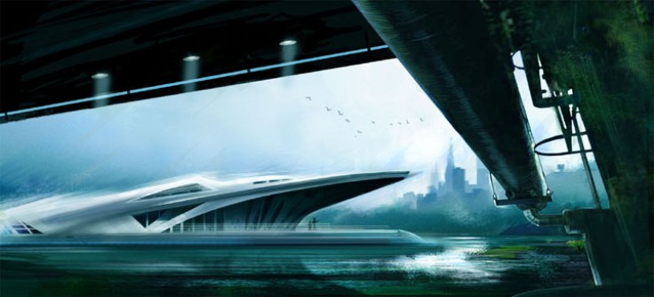163-vaisseaux design concept dessin