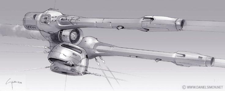 174-vaisseaux design concept dessin