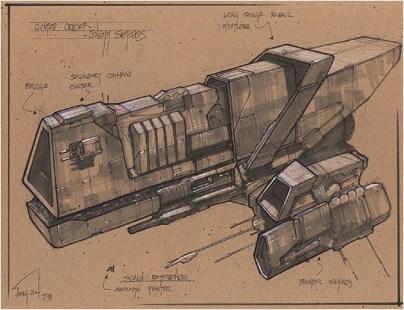 200-vaisseaux design concept dessin