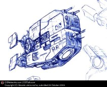 23-vaisseaux design concept dessin