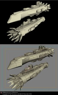 29-vaisseaux design concept dessin