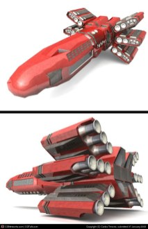 40-vaisseaux design concept dessin